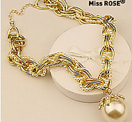 Miss ROSE®European Style Fashion Pearl Necklace