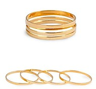 Polished Brass Ring Tail Ring
