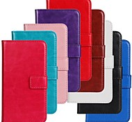 Horse Grain Solid Color PU Leather Full Body Cover with Stand and Case for Nokia Lumia 630/635 (Assorted Colors)