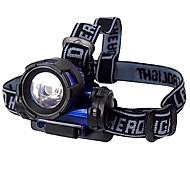 Torce frontali 1 Modo 160 Lumens AAA Batteria -Campeggio/Escursionismo/Speleologia / Ciclismo / Caccia / Pesca / Viaggi / Multiuso /