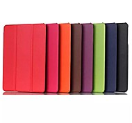 color sólido más reciente tensión custer cuero de la PU caso de cuerpo completo para el lenovo MIix 3 (colores surtidos)