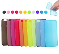 XUNDD Grind Arenaceous  Fresh Color TPU UltraThin Soft  Back Cover for iPhone 6(Assorted color)