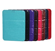 Pocket Pattern PU Leather Case with Pen for 8 Inch Tablet (Assorted Colors)