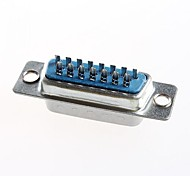 DB15 Male Head Double Row 15 Core Welding Wire Type DB15 Serial Ports (10Pcs)