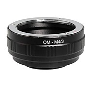 POPLAR® OM-M4/3 Olympus Lens to Panasonic/Olympus M4/3 Camera Adapter Ring (Black)