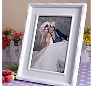 Personalized Framed Photo 10 Inches Design White Wooden Frame with Stand 1 Photo