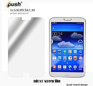 hoge transparantie spiegel lcd screen protector voor de Samsung Galaxy Tab 3 8-inch