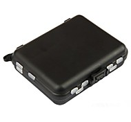Black Double-faced Sea&Rock Fishing Tool Plastic Boxes for Fishing Parts