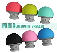Portable Creative Small Mushroom Style Mini Bluetooth 3.0+EDR Speaker (Color Assorted)