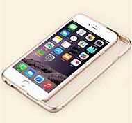 cas de haute qualité de support de cadre en métal pour iPhone 6 (couleurs assorties)