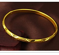 Fashion Exquisite Gift Ms Pattern Plating 24 K Gold Bracelet