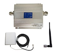 LCD DCS 1800MHz Mobile Signal Repeater Booster with Panel Antenna Kit New