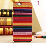 China Nation Style Pattern Leather Hard Case for iPhone 6 (Assorted Colors)