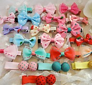 Hair Accessories for Dogs Red / Green / Blue / Pink / Yellow / Purple / Orange Spring/Fall Mixed Material