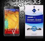 hd Schirmschutz mit Staub Absorber für Samsung Galaxy Note 3 (3 Stück)