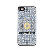 Personalized Phone Case - Yellow Flower Design Metal Case for iPhone 5/5S