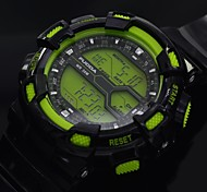 Men's Watch Sports LCD Multi-Functional Digital Wrist Watch with EL Blacklight (Assorted Colors)