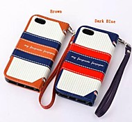 Vintage British Navy Wind Hit Color Personalized Cover for iPhone 5C(Assorted Colors)