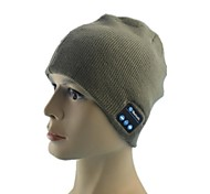 Fashionable Autumn & Winter Warm Knitted Hat w/ Bluetooth Function(Assorted Colors)