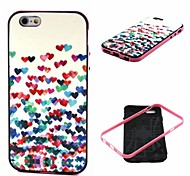 piccolo modello di amore Custodia Cover posteriore per iPhone6