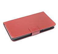 vendita calda 100% cassa dell'unità di elaborazione del cuoio di vibrazione di cuoio per philips w6618 sinistra a destra smartphone a 3 colori
