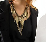 Women's Retro Multi Element Tassel Necklace