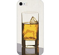 Wine Glass Pattern Back Case for iPhone 6