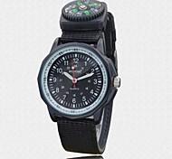 Herren-Textilarmband funktionale Kompass wasserdichten Outdoor-Sport Militär Armbanduhr