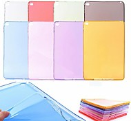 Colorful TPU Clear Soft Back Case for iPad Air2 (Assorted Colors)