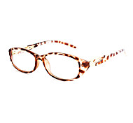 [Free Lenses] PC Oval Full-Rim Fashion Prescription Eyeglasses