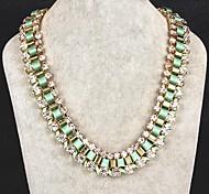 Exaggerated Fashion Glaring Shining Diamond Chain Diamond Necklace Exquisite Gift