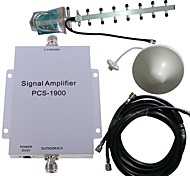 PCS 1900MHZ Cell Phone Signal Booster Amplifier Repeater Antenna Kit 500M²