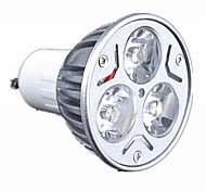 GU10 LED Spotlight 3 High Power LED 330 lm Warm White Cool White Dimmable AC 220-240 V