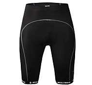 WOLFBIKE Unisex Summer GEL Pad MTB Mountain Bike Cycling Shorts-Black