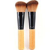 2 Makeup Brushes Set Synthetic Hair Face / Lip / Eye Others