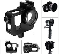 Fat Cat CNC Aluminum Alloy Extension Ultra Heat-Sink Case w/ 37mm MCUV Lens for GOPRO Hero 4