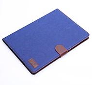 grano moda cowboy tablet pu proteggere caso con il basamento per ipad dell'aria 2
