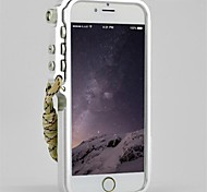 Unique Designs Metal Mechanical Arm Hard Case for iPhone 6(Assorted Color)