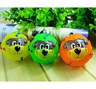 3шт товаров для домашних животных прекрасный мяч игрушечная собака случайный цвет