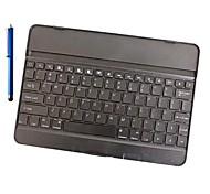 Bluetooth 3.0 de alumínio teclado e caneta para ipad 6 / ipad ar 2 (cores sortidas)