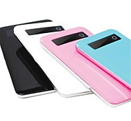 8000mAh New Style Ultra-Thin Power Bank with Screen for iphone 6/6 plus/5/5S/Samsung S4/S5/Note2(Assorted Color)