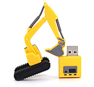 Excavator 8GB USB 2.0 Flash Pen Drive