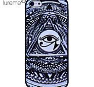 lureme fantasía ojo patrón de impresión de policarbonato para el iphone 5/5s