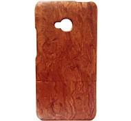 kyuet custodia di legno artigianale hua legno li caso di telefono cellulare della pelle della copertura delle coperture naturali per htc uno M7