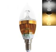Zweihnder E14 5 W 15 SMD 2835 450 LM Warm White/Cool White CA Decorative Candle Bulbs AC 220-240 V