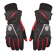High Quality Men Winter Warm 100% Waterproof Windproof Full Finger Racing Bike Sports Skiing Glove Motorcycle Gloves
