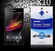 HD Screen Protector with Dust-Absorber for Sony Xperia Z3 (10 PCS)