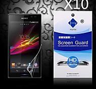 hd protezione dello schermo di polvere-absorber per Sony Xperia Z3 (10 pz)