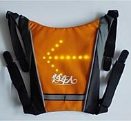 BIKEMAN™ Remote Control LED Light-up Warning Bicycle Backpack Pendant
