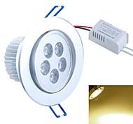 5x1W 500-550lm 3000k теплый белый свет потолочное освещение (85-265В)